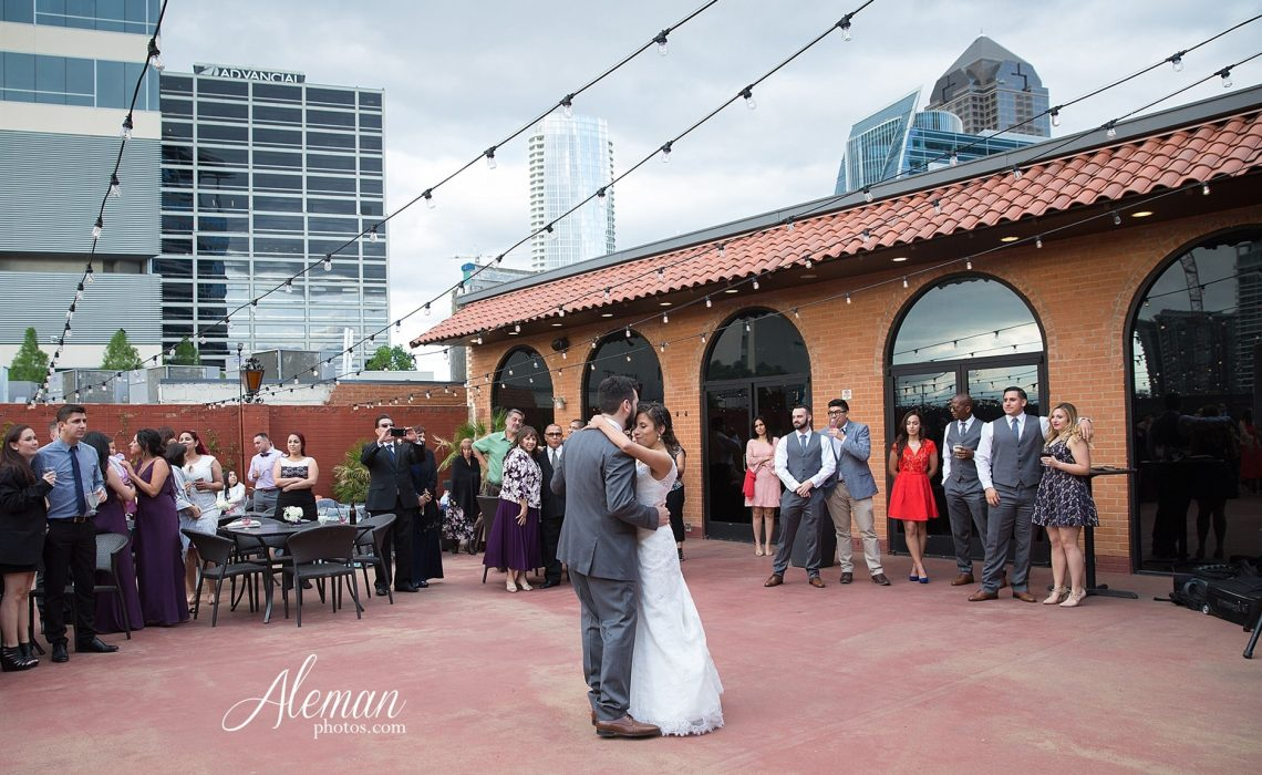 Wedding event al El Fenix Downtown Dallas