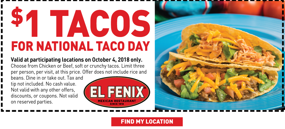 Taco Day coupon
