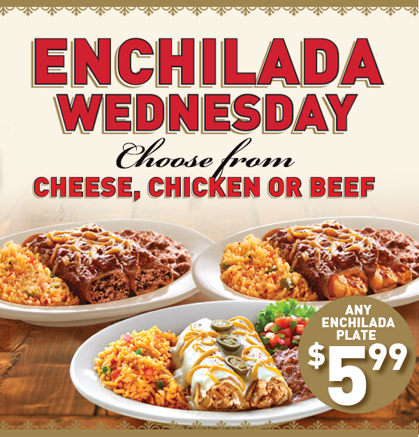 Enchilada Wednesday